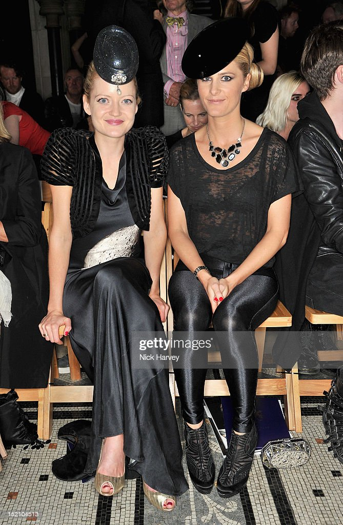 LFW SS2013: Philip Treacy Front Row