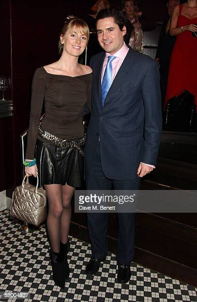 Lady Emily Copton and guest attend the Marco Pierre White and Frankie Dettori hosted Conservative Party General Election Campaign Fund VIP Private...