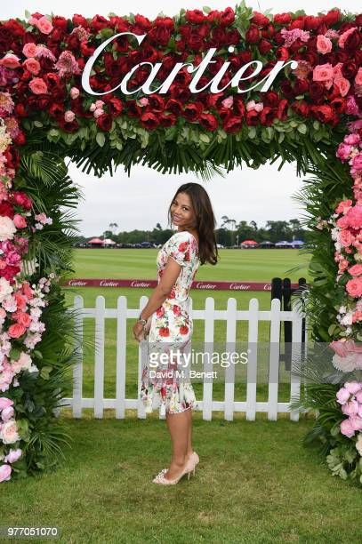 Lady Emma Thynn Viscountess Weymouth attends the Cartier Queen's Cup Polo at Guards Polo Club on June 17 2018 in Egham England