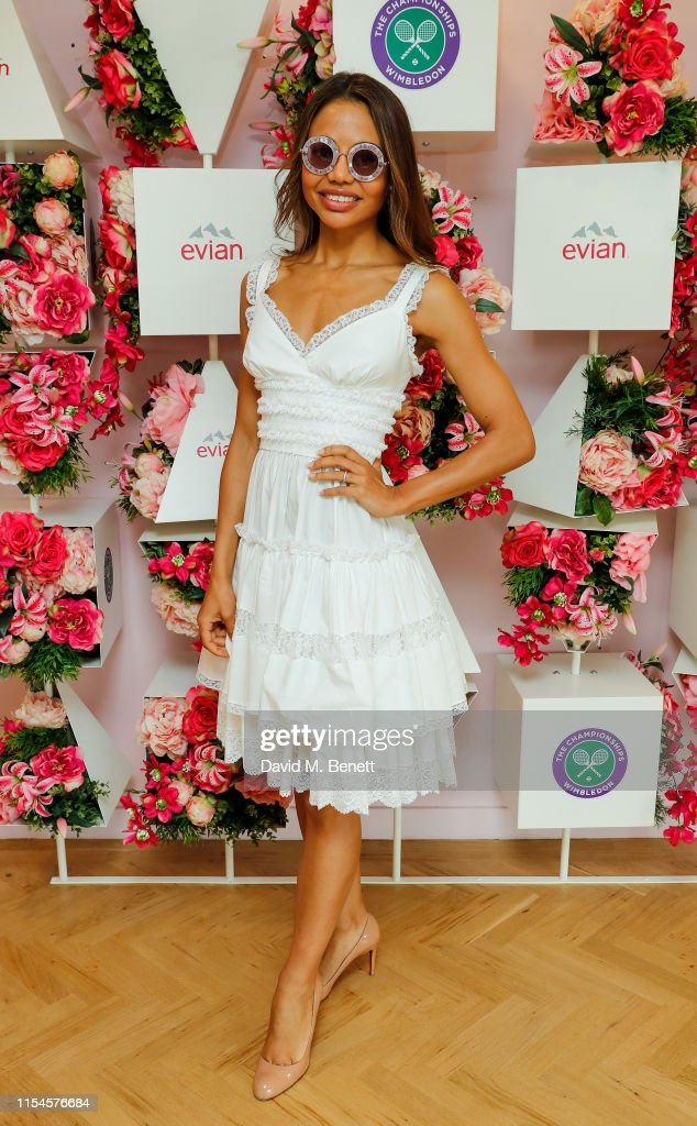 Evian At The Championships, Wimbledon 2019 : News Photo