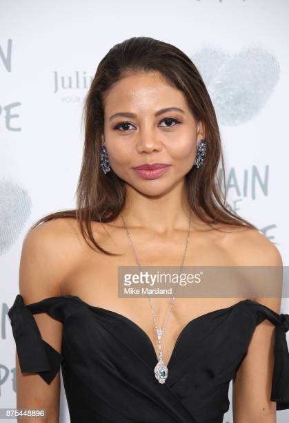 Lady Emma Weymouth attends the Chain Of Hope Gala Ball held at Grosvenor House on November 17 2017 in London England