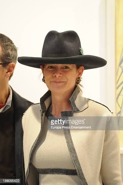 Lady Foster Elena Ochoa attends International Contemporary Art Fair ARCO 2012 at Ifema on February 15 2012 in Madrid Spain