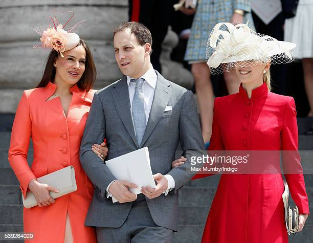 Lady Frederick Windsor Lord Frederick Windsor and Lady Gabriella Windsor attend a national service of thanksgiving to mark Queen Elizabeth II's 90th...