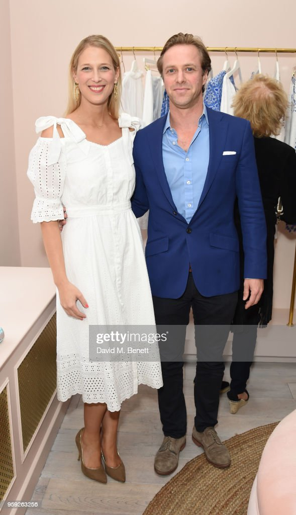 Lady Gabriela Windsor and Tom Kingston attend the Beulah London store opening on May 16, 2018 in London, England.