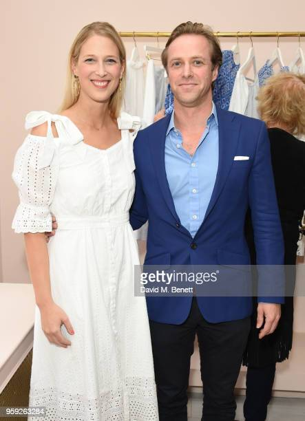 Lady Gabriela Windsor and Tom Kingston attend the Beulah London store opening on May 16 2018 in London England