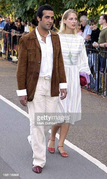 Lady Gabriella Windsor Aatish Taseer Attend The 2006 Serpentine Gallery Summer Party