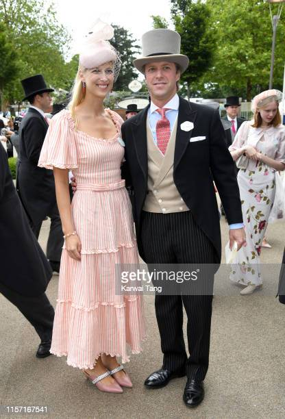 Lady Gabriella Windsor and Thomas Kingston attend day three Ladies Day of Royal Ascot at Ascot Racecourse on June 20 2019 in Ascot England