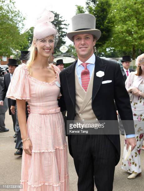 Lady Gabriella Windsor and Thomas Kingston attend day three, Ladies Day, of Royal Ascot at Ascot Racecourse on June 20, 2019 in Ascot, England.