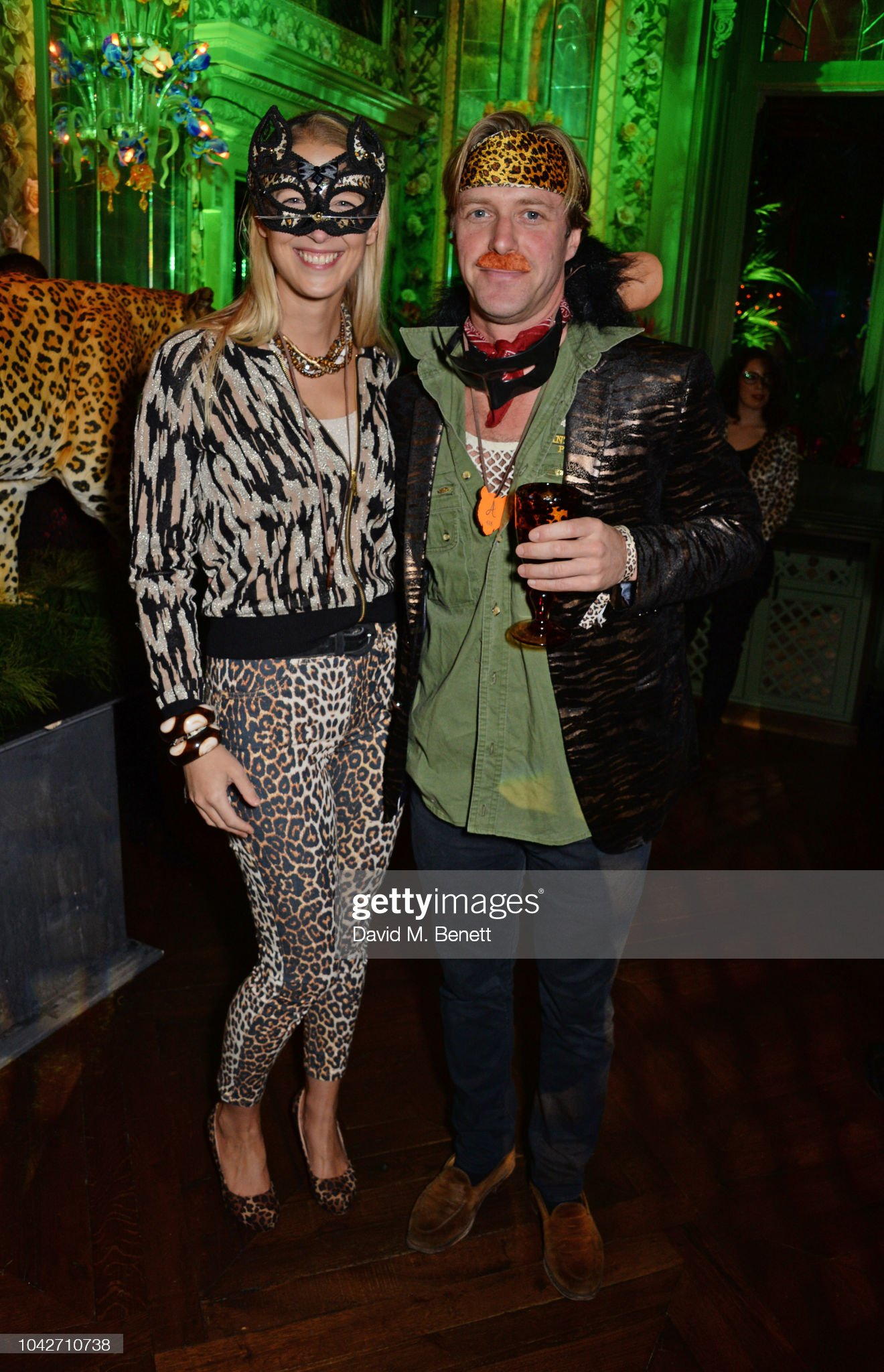 The Annabel's Jungle Party : News Photo