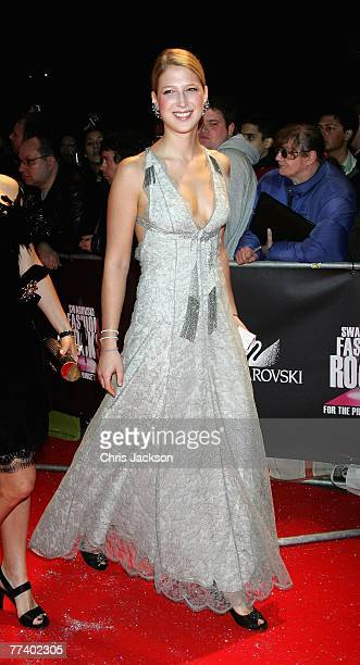 Lady Gabriella Windsor arrives at the Swarovski Fashion Rocks concert at the Royal Albert Hall on October 18 2007 in London England