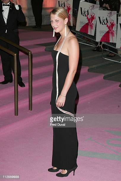 Lady Gabriella Windsor arrives at the The Golden Age of Couture at the V A Museum on September 18 2007 in London England