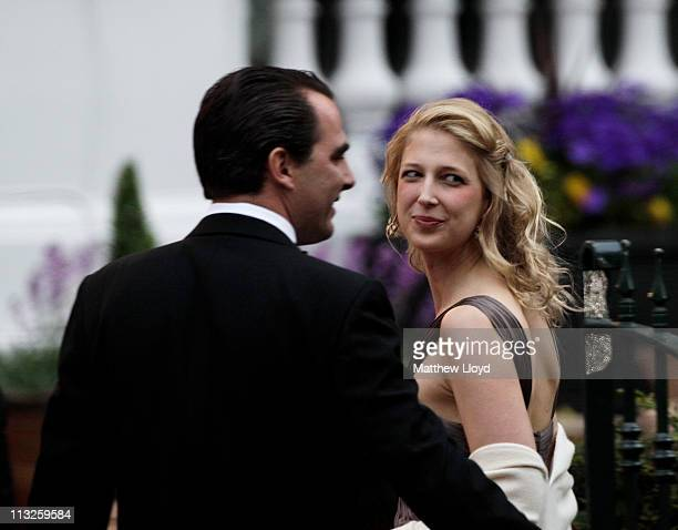 Lady Gabriella Windsor attends a gala prewedding dinner held at the Mandarin Oriental Hyde Park on April 28 2011 in London England