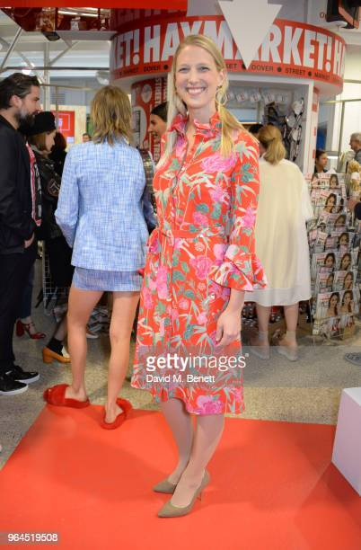 Lady Gabriella Windsor attends Hello Magazine's 30th anniversary party at Dover Street Market on May 9 2018 in London England