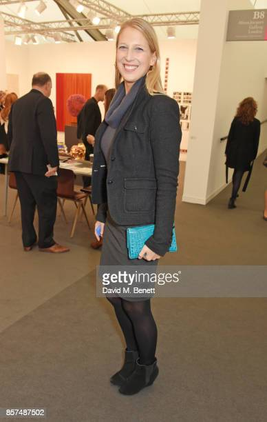 Lady Gabriella Windsor attends the Frieze Art Fair 2017 VIP Preview in Regent's Park on October 4 2017 in London England
