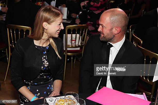 Lady Gabriella Windsor attends the 'Kids Company Heart Of Gold' fundraising dinner at the Porchester Hall on March 6 2014 in London England