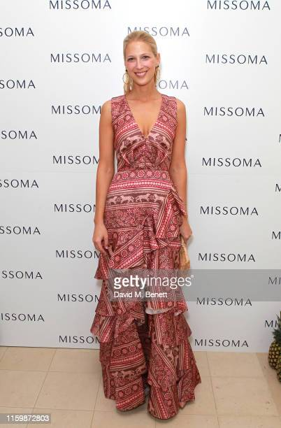 Lady Gabriella Windsor attends the Missoma Summer Party at the Residence of the Embassy of Colombia on July 03, 2019 in London, England.