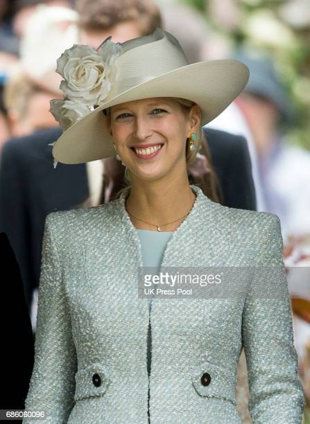 Lady Gabriella Windsor attends the wedding of Pippa Middleton and James Matthews at St Mark's Church on May 20 2017 in Englefield Green England