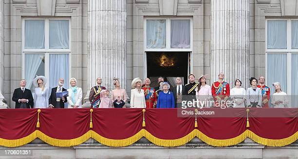 Lady Gabriella Windsor Prince Michael of Kent Princess Michael of Kent Prince Edward Earl of Wessex Lady Louise Windsor James Viscount Severn Sophie...