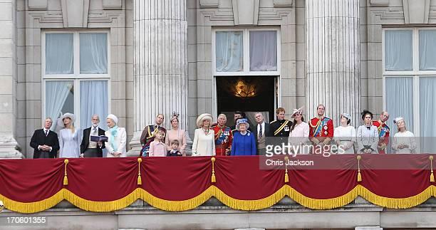 Lady Gabriella Windsor Prince Michael of Kent Princess Michael of Kent Prince Edward Earl of Wessex Lady Louise Windsor James Viscount Severn Sophie...