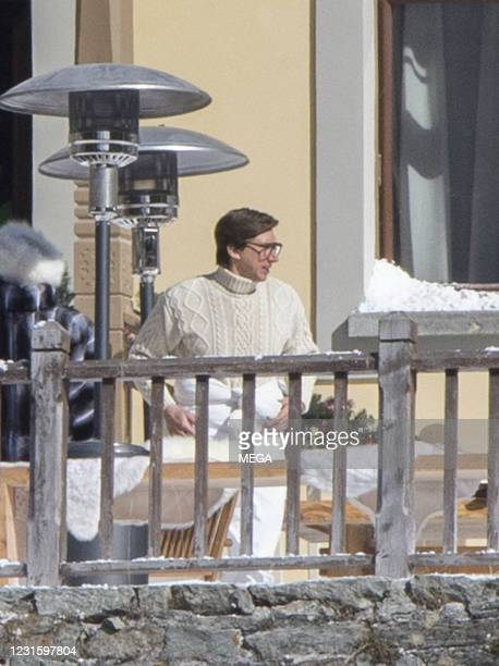 """Lady Gaga and Adam Driver filming """"House of Gucci"""" on March 8, 2021 in Jean, Italy."""