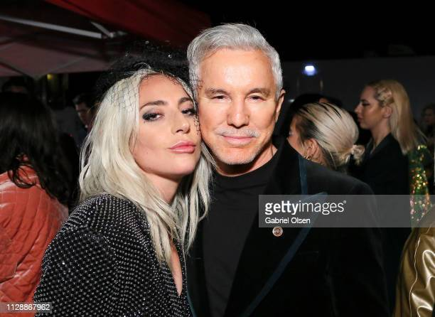 Lady Gaga and Baz Luhrmann attend Mark Ronson's 'Club Heartbreak' Grammy Party sponsored by Absolut Elyx on February 10 2019 in Los Angeles California