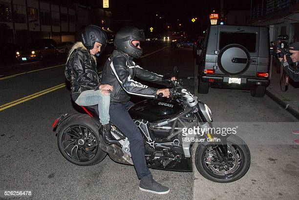 Lady Gaga and Bradley Cooper are seen on April 29 2016 in Los Angeles California