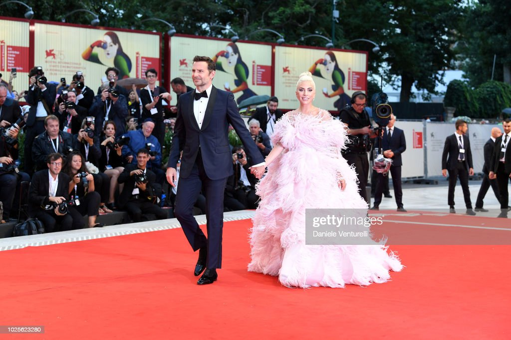 A Star Is Born Red Carpet Arrivals - 75th Venice Film Festival : News Photo