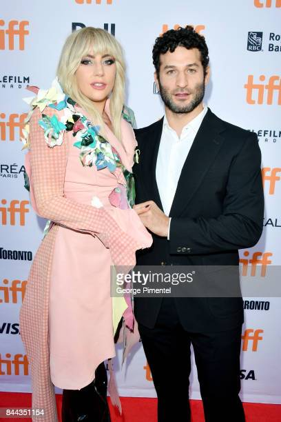 Lady Gaga and Chris Moukarbel attend the Gaga Five Foot Two premiere during the 2017 Toronto International Film Festival at Princess of Wales Theatre...