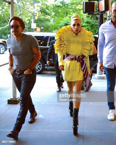 Lady Gaga and Christian Carino are seen in Manhattan on May 30 2018 in New York City