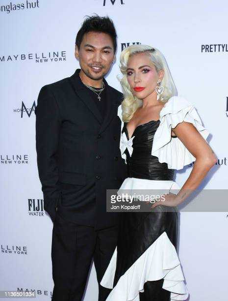Lady Gaga and Frederic Aspiras attend The Daily Front Row's 5th Annual Fashion Los Angeles Awards at Beverly Hills Hotel on March 17 2019 in Beverly...