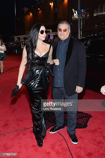 Lady Gaga and Joe Germanotta attend the 2013 MTV Video Music Awards at the Barclays Center on August 25 2013 in the Brooklyn borough of New York City