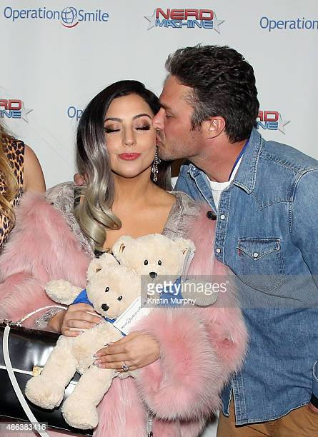 Lady Gaga and Taylor Kinney attend Operation Smile's 4th Annual Celebrity Ski Smile Challenge VIP Dinner on March 14 2015 in Park City Utah