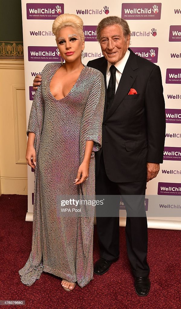 Prince Harry Attends Lady Gaga And Tony Bennett Gala Concert In Aid Of WellChild : News Photo