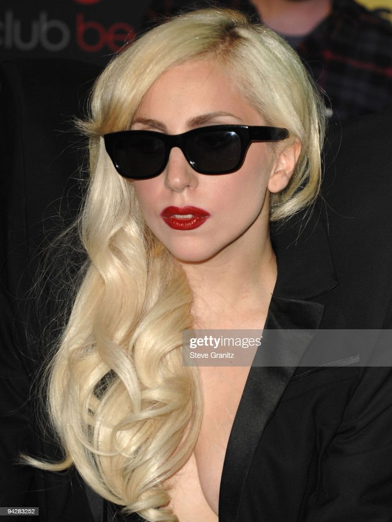 Lady Gaga appears at In-Store Appearance at Best Buy on November 23, 2009 in Los Angeles, California.
