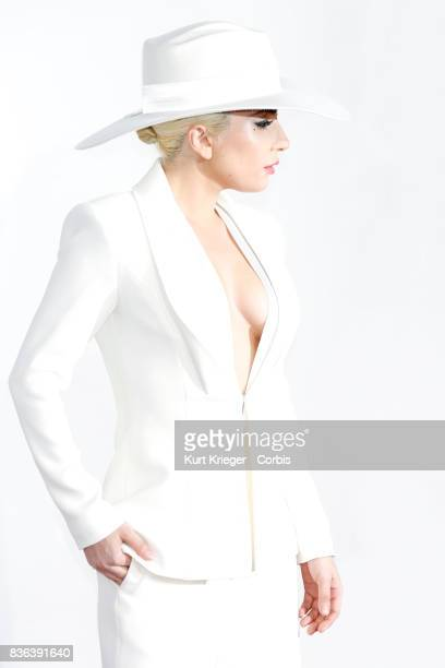 Image has been digitally retouched Lady Gaga arrives at the 2016 American Music Awards in Los Angeles California on November 20 2016