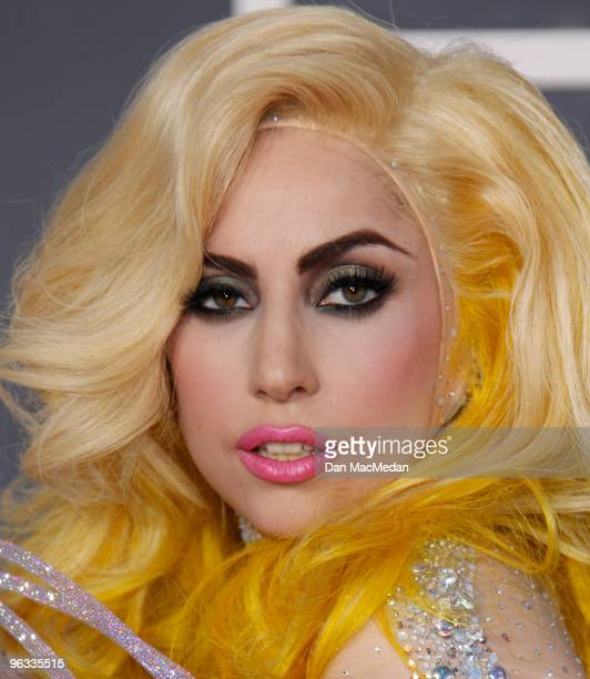 Lady Gaga arrives at the 52nd Annual GRAMMY Awards held at Staples Center on January 31, 2010 in Los Angeles, California.