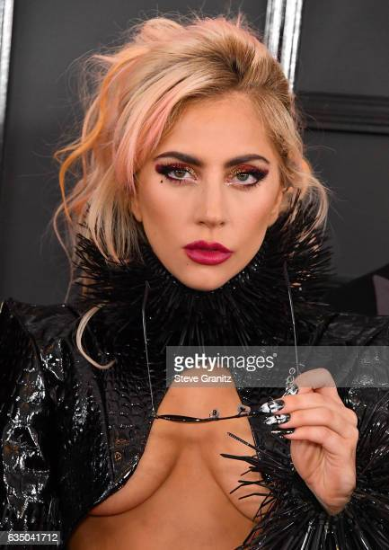 Lady Gaga arrives at the 59th GRAMMY Awards on February 12 2017 in Los Angeles California