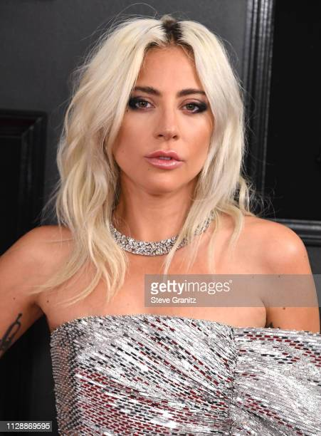 Lady Gaga arrives at the 61st Annual GRAMMY Awards at Staples Center on February 10 2019 in Los Angeles California