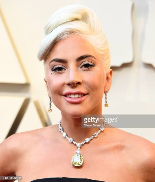 Lady Gaga arrives at the 91st Annual Academy Awards at Hollywood and Highland on February 24 2019 in Hollywood California