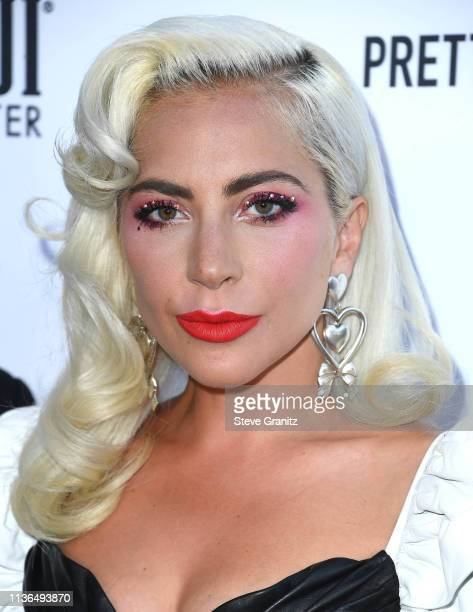 Lady Gaga arrives at The Daily Front Row's 5th Annual Fashion Los Angeles Awards at Beverly Hills Hotel on March 17, 2019 in Beverly Hills,...