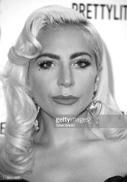 Lady Gaga arrives at the The Daily Front Row's 5th Annual Fashion Los Angeles Awards at Beverly Hills Hotel on March 17 2019 in Beverly Hills...