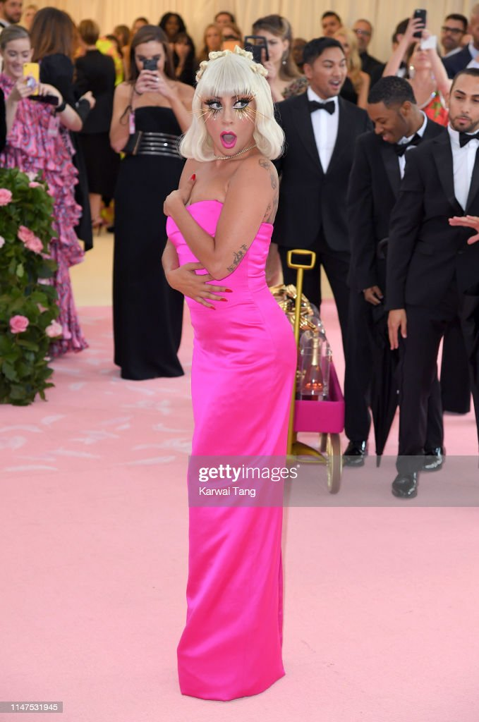 The 2019 Met Gala Celebrating Camp: Notes On Fashion - Arrivals : News Photo