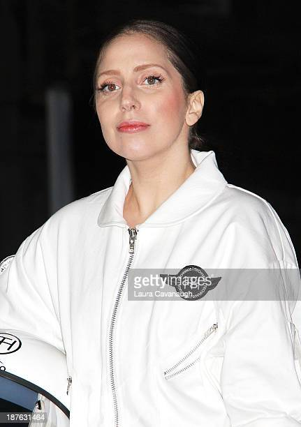 Lady Gaga attends artRave Lady Gaga's 'Artpop' Official Album Release Party on November 10 2013 in New York City