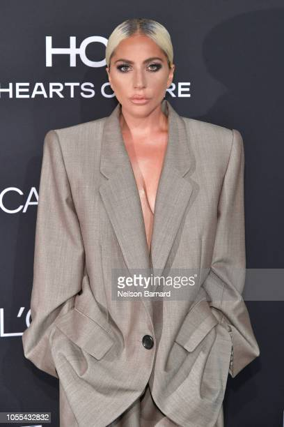 Lady Gaga attends ELLE's 25th Annual Women In Hollywood Celebration presented by L'Oreal Paris Hearts On Fire and CALVIN KLEIN at Four Seasons Hotel...