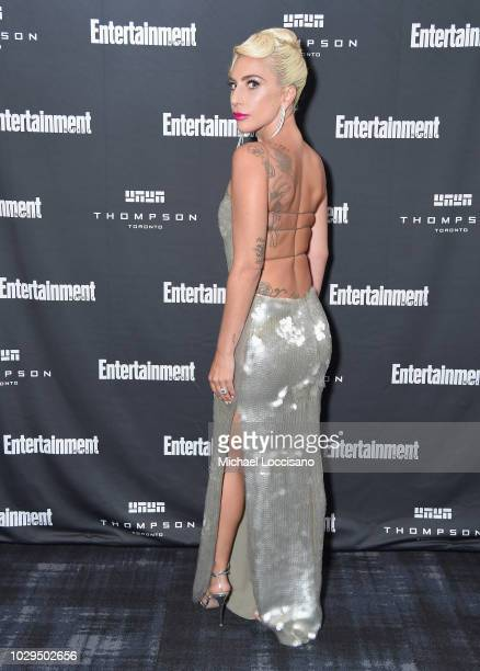 Lady Gaga attends Entertainment Weekly's Must List Party at the Toronto International Film Festival 2018 at the Thompson Hotel on September 8 2018 in...