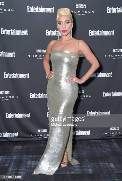 Lady Gaga attends Entertainment Weekly's Must List Party at the Toronto International Film Festival 2018 at the Thompson Hotel on September 8, 2018...