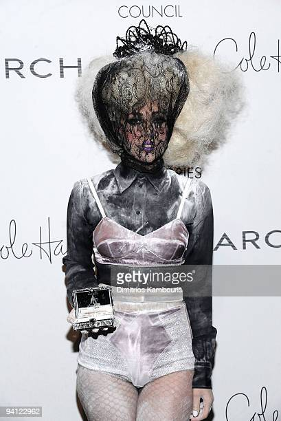 Lady Gaga attends the 13th Annual 2009 ACE Awards presented by the Accessories Council at Cipriani 42nd Street on November 2 2009 in New York City