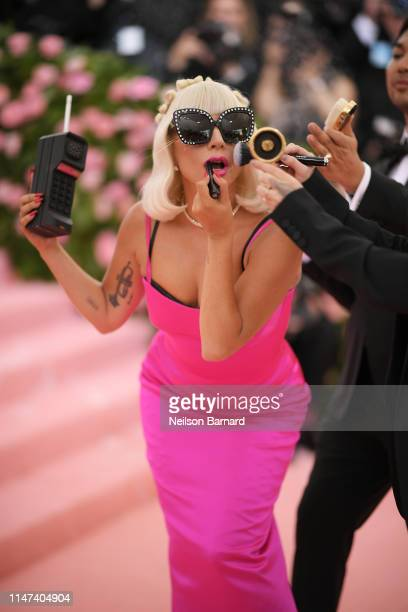 Lady Gaga attends The 2019 Met Gala Celebrating Camp: Notes on Fashion at Metropolitan Museum of Art on May 06, 2019 in New York City.