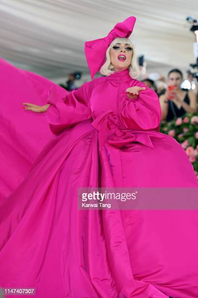 Lady Gaga attends The 2019 Met Gala Celebrating Camp: Notes On Fashion at The Metropolitan Museum of Art on May 06, 2019 in New York City.