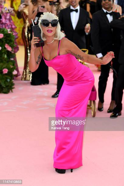 Lady Gaga attends The 2019 Met Gala Celebrating Camp Notes On Fashion at The Metropolitan Museum of Art on May 06 2019 in New York City
